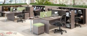 Серия Xten — отличная офисная мебель известного бренда Skyland