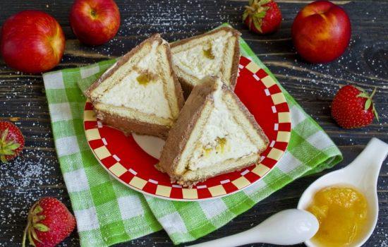 Торт «Домик» из печенья – простой оригинальный десерт!