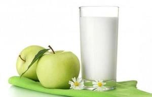 Эффективное похудение на кефирно-яблочной диете.