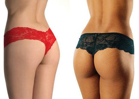 Популярные модели женских трусиков