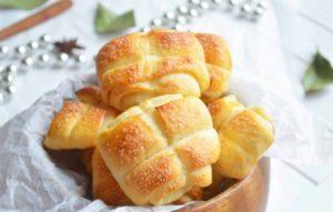 Булочки с сахаром: пошаговый рецепт. Как приготовить ароматные, вкусные булочки с сахаром из дрожжевого, сдобного, слоеного теста